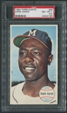 1964 Topps Giants Baseball #49 Hank Aaron PSA 8.5 (NM-MT+) *0196