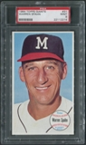 1964 Topps Giants Baseball #31 Warren Spahn PSA 9 (MINT) *2214