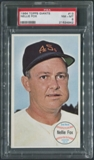 1964 Topps Giants Baseball #13 Nellie Fox PSA 8 (NM-MT) *4942