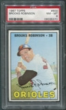 1967 Topps Baseball #600 Brooks Robinson PSA 8 (NM-MT) *5370