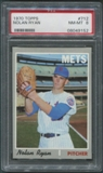 1970 Topps Baseball #712 Nolan Ryan PSA 8 (NM-MT) *9152