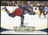 2011/12 Upper Deck Exclusives #403 Vaclav Prospal /100