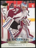 2011/12 Upper Deck Exclusives #407 Jean-Sebastien Giguere /100