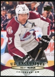 2011/12 Upper Deck Exclusives #409 Milan Hejduk /100