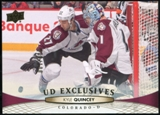 2011/12 Upper Deck Exclusives #410 Kyle Quincey /100