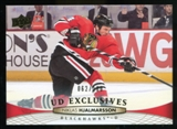 2011/12 Upper Deck Exclusives #414 Niklas Hjalmarsson /100