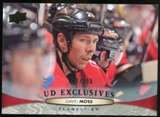2011/12 Upper Deck Exclusives #424 David Moss /100