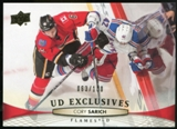 2011/12 Upper Deck Exclusives #428 Cory Sarich /100