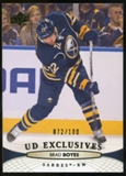 2011/12 Upper Deck Exclusives #429 Brad Boyes /100