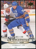 2011/12 Upper Deck Exclusives #432 Thomas Vanek /100