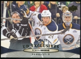 2011/12 Upper Deck Exclusives #433 Robyn Regehr /100