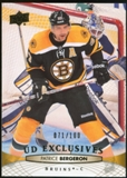 2011/12 Upper Deck Exclusives #438 Patrice Bergeron /100