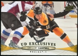 2011/12 Upper Deck Exclusives #443 Gregory Campbell /100