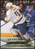 2011/12 Upper Deck Exclusives #480 Mattias Ekholm YG /100