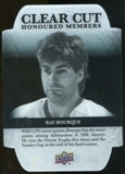 2011/12 Upper Deck Clear Cut Honoured Members #HOF2 Ray Bourque /100