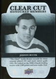 2011/12 Upper Deck Clear Cut Honoured Members #HOF4 Johnny Bucyk /100