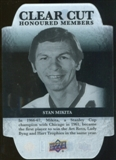 2011/12 Upper Deck Clear Cut Honoured Members #HOF8 Stan Mikita /100