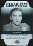2011/12 Upper Deck Clear Cut Honoured Members #HOF13 Ted Lindsay /100