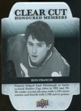 2011/12 Upper Deck Clear Cut Honoured Members #HOF19 Ron Francis /100