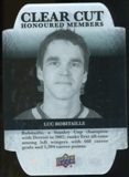 2011/12 Upper Deck Clear Cut Honoured Members #HOF21 Luc Robitaille /100