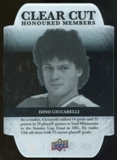 2011/12 Upper Deck Clear Cut Honoured Members #HOF22 Dino Ciccarelli /100