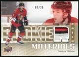 2011/12 Upper Deck Rookie Materials Patches #RMDR David Rundblad /25
