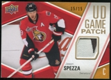 2011/12 Upper Deck Game Jerseys Patches #GJJS Jason Spezza /15