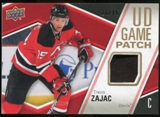 2011/12 Upper Deck Game Jerseys Patches #GJTZ Travis Zajac /15