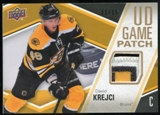 2011/12 Upper Deck Game Jerseys Patches #GJ2DK David Krejci /15