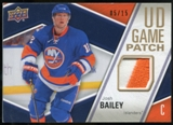 2011/12 Upper Deck Game Jerseys Patches #GJ2JB Josh Bailey /15