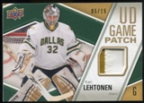 2011/12 Upper Deck Game Jerseys Patches #GJ2KL Kari Lehtonen /15