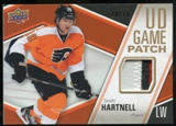 2011/12 Upper Deck Game Jerseys Patches #GJ2SH Scott Hartnell /15