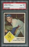 1963 Fleer Baseball #42 Sandy Koufax PSA 8 (NM-MT) *7547