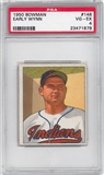 1950 Bowman Baseball #148 Early Wynn PSA 4 (VG-EX) *1878