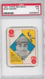 1951 Topps Red Back Baseball #38 Duke Snider PSA 3 (VG) *5672