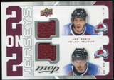 2008/09 Upper Deck MVP Two on Two Jerseys #J2SHSW Joe Sakic/Milan Hejduk/Wojtek Wolski/Ryan Smyth