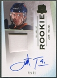 2009/10 The Cup #180 John Tavares Rookie Gold Rainbow Patch Auto #72/91