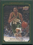 2007/08 Chronology #135 Kevin Durant Rookie Gold Auto #04/10
