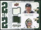 2008/09 Upper Deck MVP Two on Two Jerseys #J2MZLT Mike Modano/Marty Turco/Jere Lehtinen/Sergei Zubov