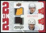 2008/09 Upper Deck MVP Two on Two Jerseys #J2PRRC Dion Phaneuf/Robyn Regehr/Dwayne Roloson/Erik Cole