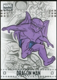 2014 Upper Deck Marvel Now Silver #29 Dragon Man