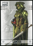 2014 Upper Deck Marvel Now Silver #31 Gamora