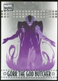 2014 Upper Deck Marvel Now Silver #33 Gorr The God Butcher