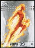 2014 Upper Deck Marvel Now Silver #40 Human Torch