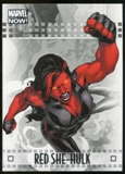 2014 Upper Deck Marvel Now Silver #80 Red She-Hulk