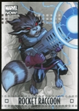 2014 Upper Deck Marvel Now Silver #82 Rocket Raccoon
