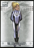 2014 Upper Deck Marvel Now Silver #97 Valeria Richards
