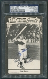 1973 - 1980 TCMA All-Time Greats Yogi Berra Signed Auto PSA/DNA *1902