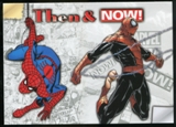 2014 Upper Deck Marvel Now Then and Now #TNSD Spider-Man