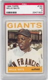 1964 Topps Baseball #150 Willie Mays PSA 3 (VG) *1922